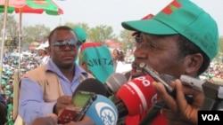 Angola, Unita, Samakuva - No Encerramento da Sua Campanha em 2012