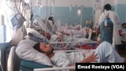 بسیاری از زخمیهای این انفجار به شفاخانههای شهر منتقل شده اند.