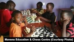 Wasu yara masu darar Chess