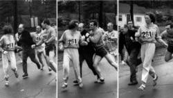 Бостонский марафон. 1967-й год. Фото Associated Press.