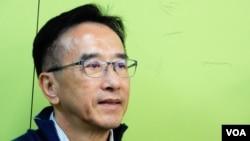 香港自由黨榮譽主席田北俊 (美國之音特約記者 湯惠芸拍攝)