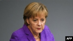 Thủ tướng Đức Angela Merkel (ảnh tư liệu)