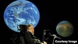 معروف سائنس دان اسٹیفن ہاکنگ (فائل فوٹو)