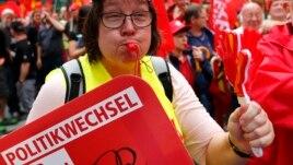 Rroga minimale, temë qendrore në fushatën gjermane