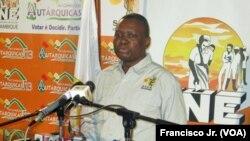Mocambique - Felisberto Naife, Director Geral do STAE