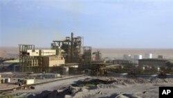 La mine d'Arlit, l'un des sites exploités par Areva au Niger