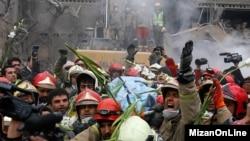 کشف آخرین پیکر از آتشنشانهای کشته شده در پلاسکو