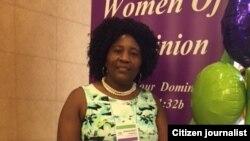 Margaret Chidemo at the 2015 Women of Dominion Conference in Cincinnati, Ohio.