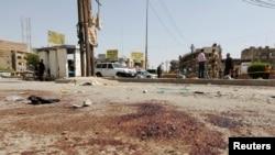 伊拉克自殺炸彈資料照。