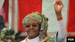 Mrs. Grace Mugabe