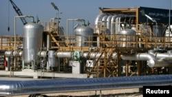 이란 테흐란 북동부의 원유 하역장. (자료사진)