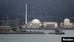 FILE - A general view of Angra dos Reis nuclear complex, located 240 km (150 miles) from Rio de Janeiro, Aug. 31, 2011.