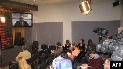 Видео пресс-конференция с участием Джеймса Аппатурая