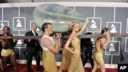 Dolazak Lady Gage na svečanu dodjelu nagrada Grammy u Los Angelesu