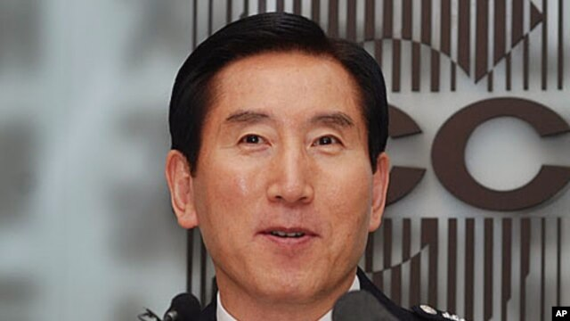 Cho Hyun-Oh, Commissioner General, South Korea National Police Agency speaking at the Seoul Foreign Correspondents Club, 18 Oct 2010