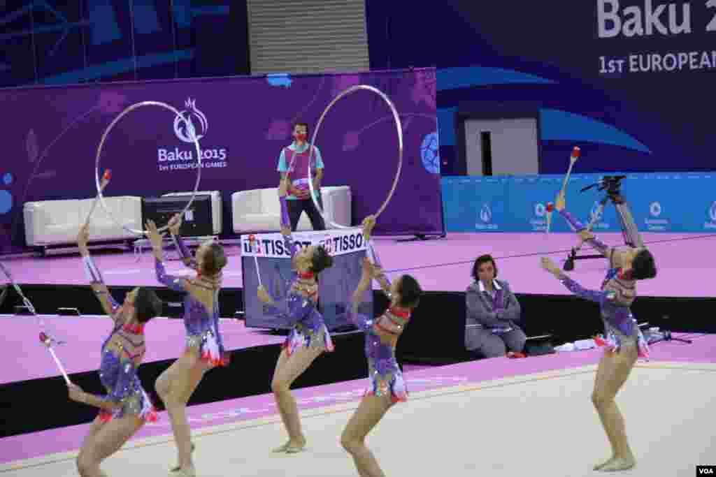 Bədii gimnastika (Milli Gimnastika Arenası)