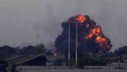 يک هواپيمای جنگنده برفراز بنغازی سرنگون شد