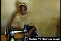Amina Lawan, Nigerian widow and beneficiary of ICRC's Micro Economic Initiative, in Maiduguri, Nigeria, September 2015.