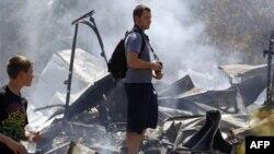 Техас: спастись от пожаров