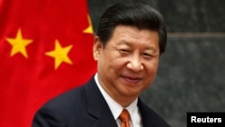 FILE - China's President Xi Jinping, June 4, 2013.