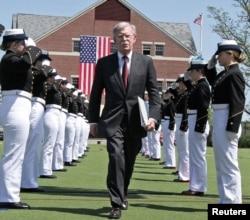 El asesor de Seguridad Nacional de EE.UU., John Bolton, que ha sido clave en la decisión de Estados Unidos de presionar al presidente en disputa Nicolás Maduro para que deje el cargo.