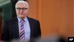 Министр иностранных дел Германии Франк-Вальтер Штайнмайер
