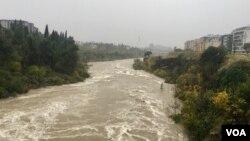 Rijeka Morača, Vezirov most, Podgorica, 6. novembra 2019. (Foto: VOA/Predrag Milić)