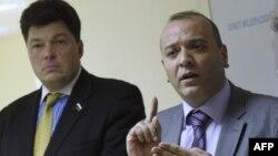 Михаил Маргелов и Аммар Кураби