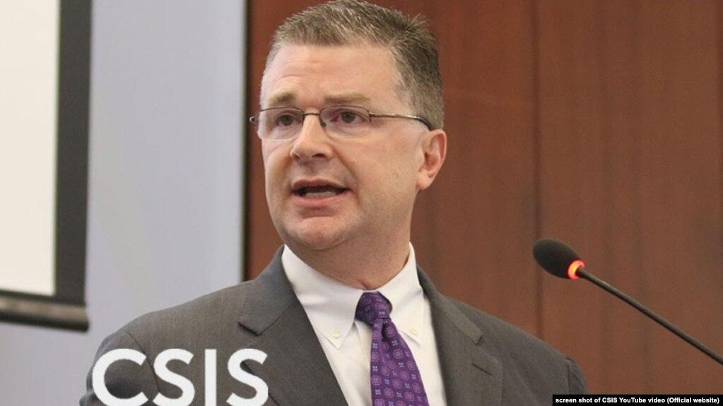 Ông Daniel Kritenbrink tại Hội nghị CSIS thường niên lần 6 về Biển Đông, 12/7/2016