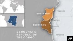 L'Est de la RDC