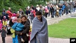 Ribuan Migran Tiba di Austria, Jerman