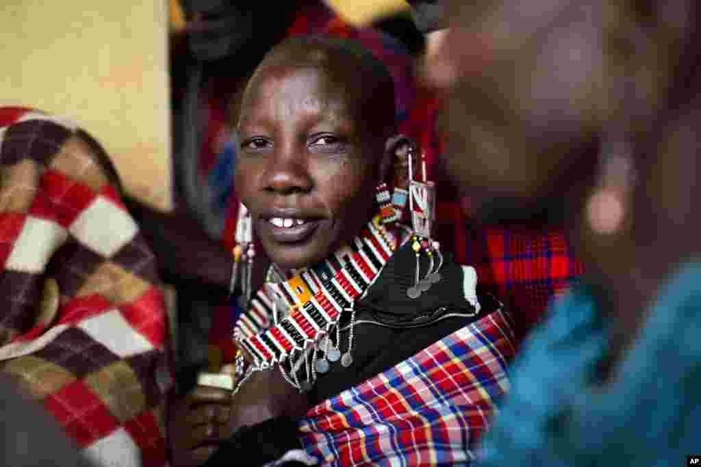 Kabilar Masai sun kada nasu kuri'u a garin Bissil dake da tazarar kilometa 120 da babban birnin Nairobi.