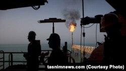 تاسیسات نفتی ایران در خلیج فارس