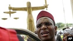 Former Nigerian Minister of the Federal Capital Territory Nasir El-Rufai, Abuja May 12, 2010 (file photo)