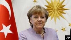 La chancelière allemande Angela Merkel, 2 février 2017.