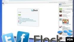 El navegador permite leer todas las actualizaciones de contactos en una sencilla barra lateral.