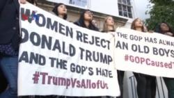 Skandal Komentar Tak Senonoh Terus Membayangi Trump