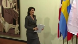 Haley Says Will Seek UN Action on Iranian Protests