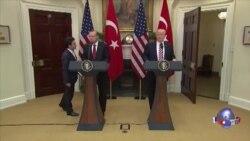 川普和埃尔多安对美土关系表示乐观 主要分歧仍在