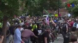 Une poignée de néonazis devant la Maison Blanche (vidéo)
