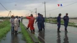 Miles evacuados por inundaciones en Japón