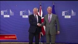 Anh-EU bắt đầu đàm phán về Brexit