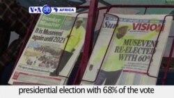VOA60 Africa - Yoweri Museveni wins Uganda's presidential election