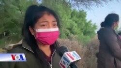 Di dân bị cầm giữ tại biên giới Mỹ nói họ ra đi vì tuyệt vọng