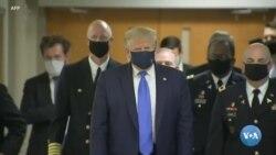 Prezident Tramp, koronavirus va niqob masalasi