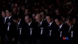 2015-03-11 美國之音視頻新聞: 日本紀念地震海嘯災難四週年