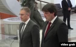 Ministar unutrašnjih poslova Srbije Nebojša Stefanović i direktor Bezbednosno informativne agencije Bratislav Gašić