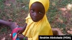 Daya daga cikin yaran da mafarauta suka ceto daga 'yan Boko Haram da suka saceta