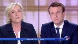 مناظره تند و پرتنش دو نامزد انتخابات فرانسه سه روز مانده به رای گیری