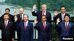 Các nguyên thủ quốc gia đến dự Hội nghị Thượng đingr APEC tại Việt Nam.